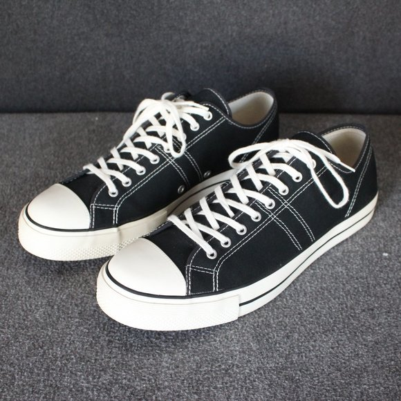 Converse Lucky Star Low Tops, Black, Retro Sneakers, Men's Size 11